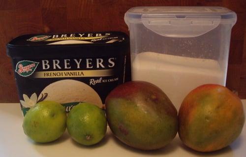 Mango-Lime Creamsicle