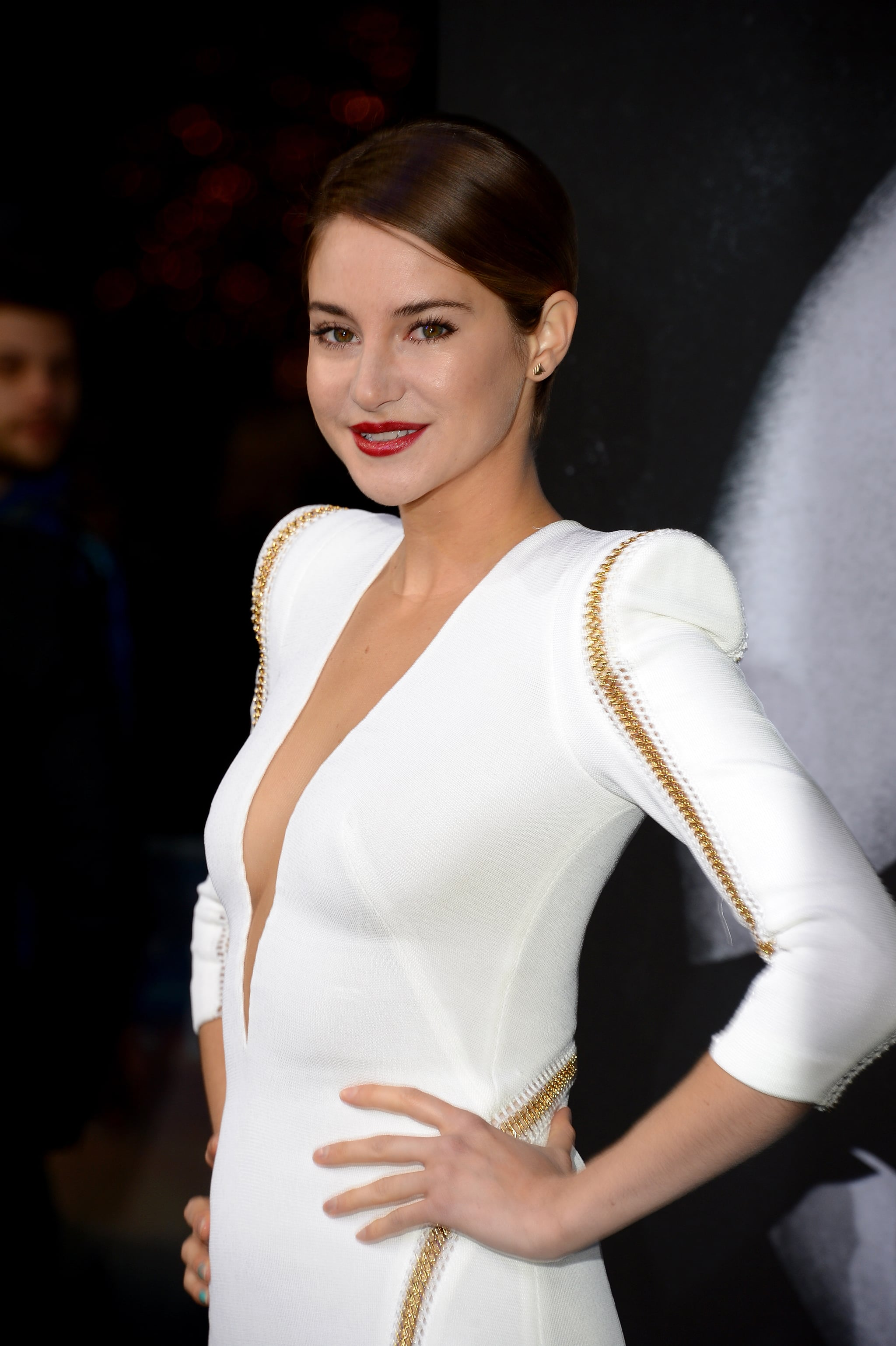Shailene Woodley S Makeup At Divergent German Premiere