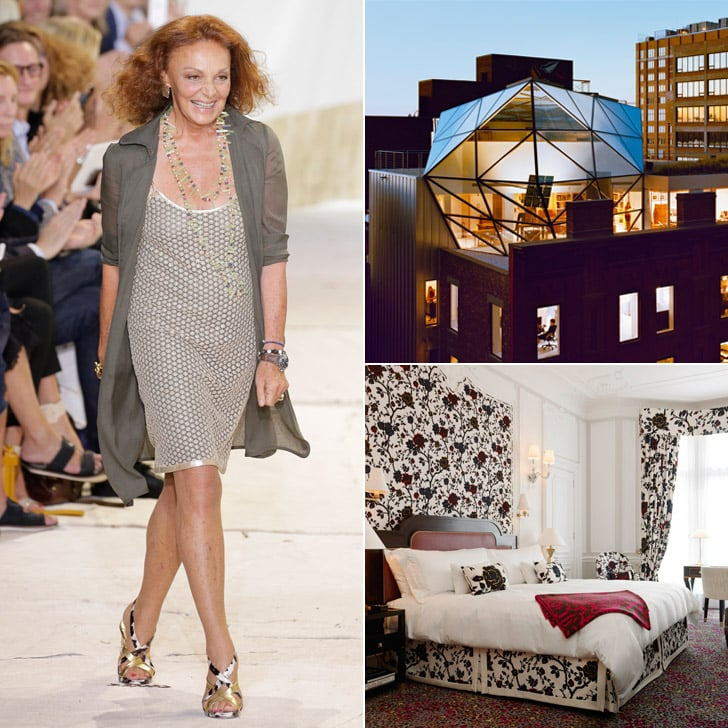 diane von furstenberg 39 s interior design tips popsugar home. Black Bedroom Furniture Sets. Home Design Ideas