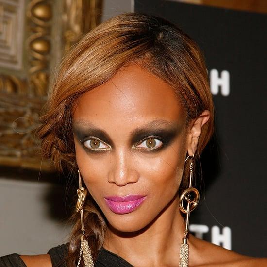 Tyra Banks Runway: Tyra Banks's Smoky Eye Makeup