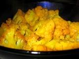 Cauliflower With Tumeric