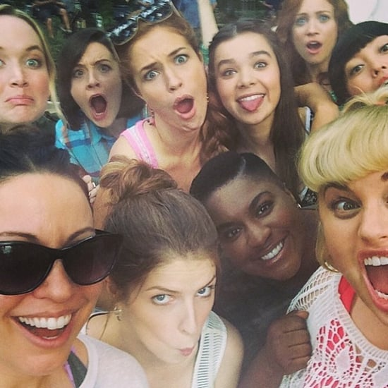 Pitch Perfect Cast Instagram Pictures
