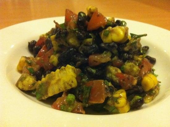 Black Bean Salad with Corn & Avocado