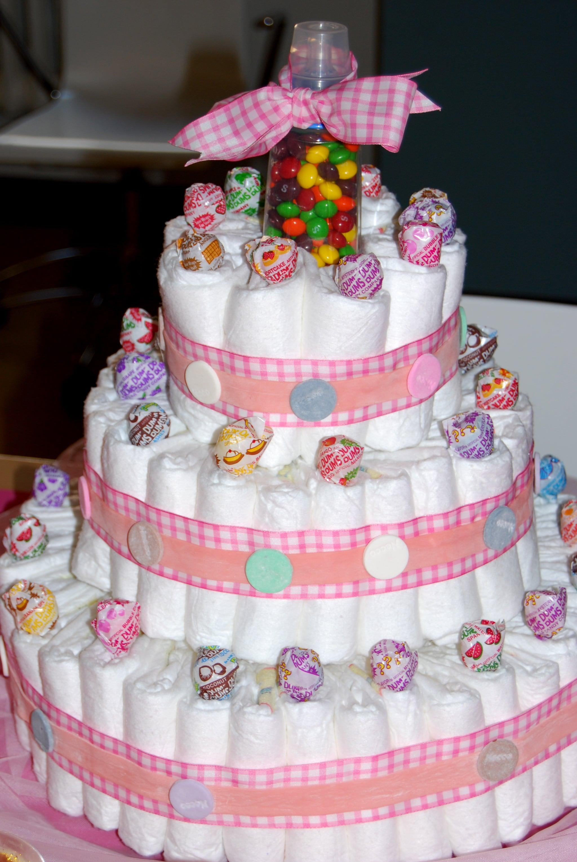 The Sugar Diaper Cake