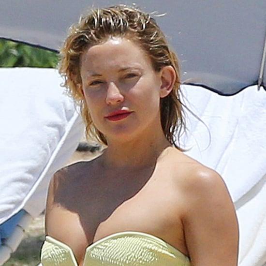 Kate Hudson in a Bikini in Hawaii With Goldie Hawn June 2016