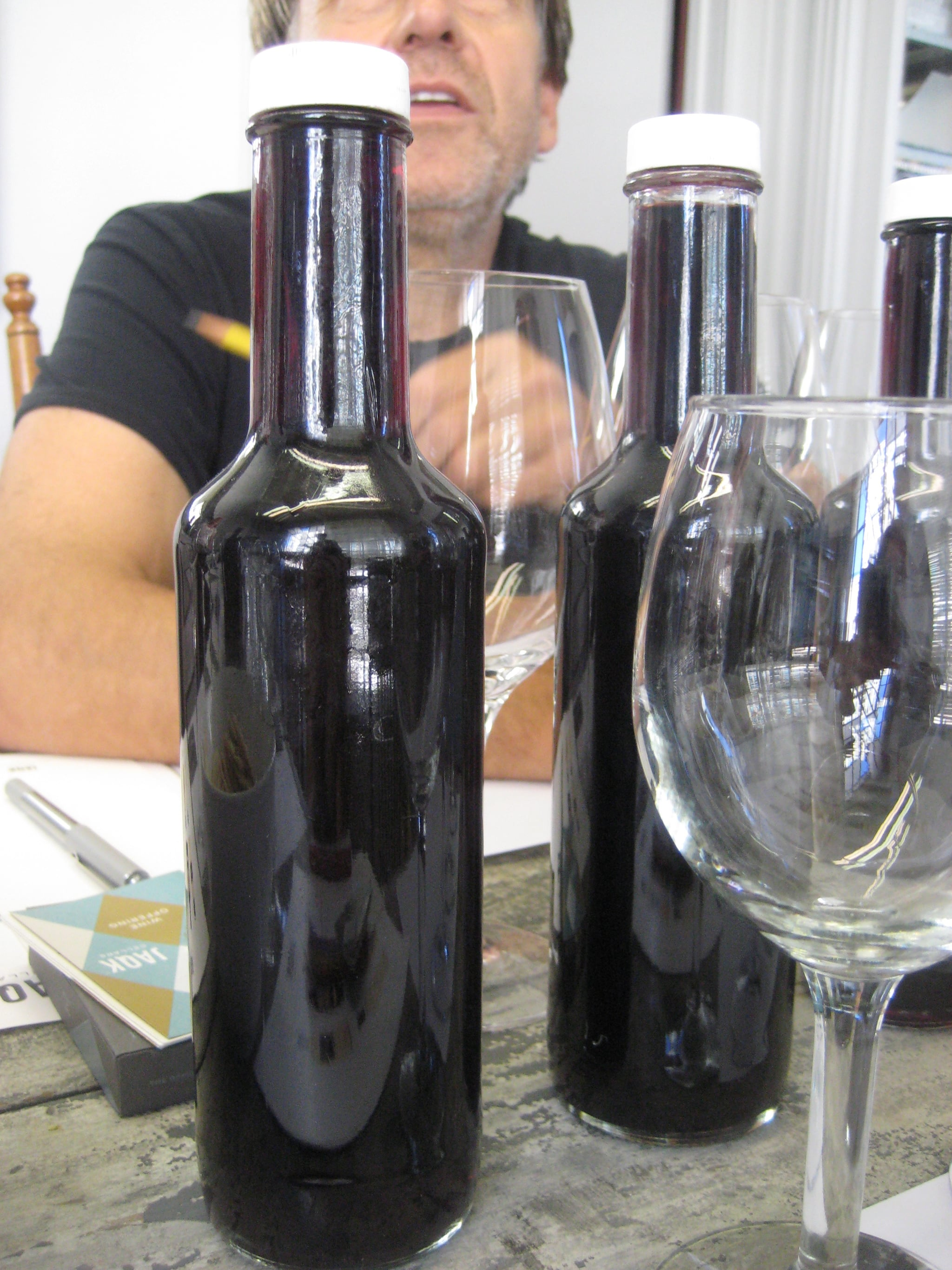Since the wine has not been released, everything we tasted were barrel samples.