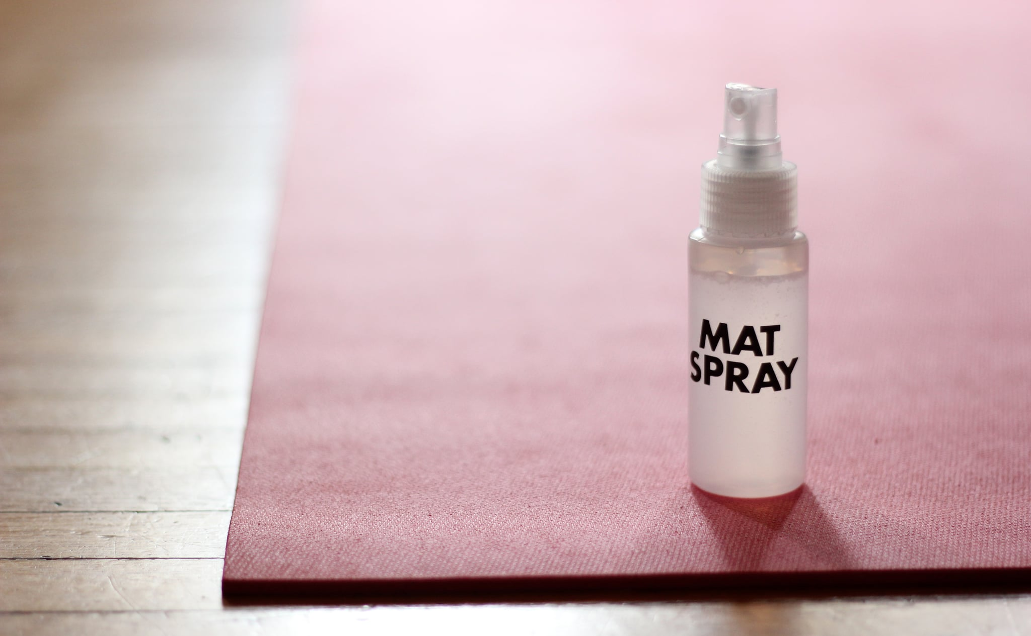 How To Clean Yoga Mat With Diy Spray Popsugar Fitness