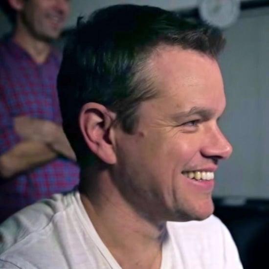 Matt Damon Spy Prank on Fans Video 2016