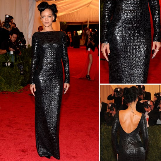 Rihanna at Met Gala 2012   POPSUGAR Fashion