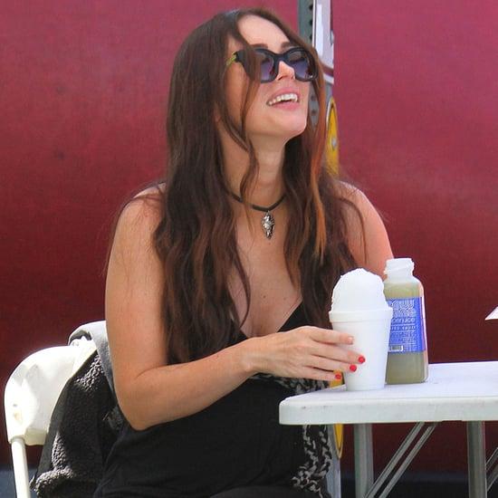 Megan Fox and Brian Austin Green Out in LA April 2016