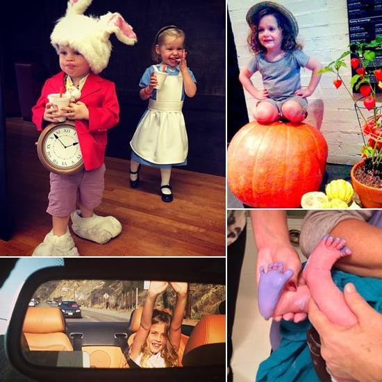 Celebrity Mom Instagram 102513