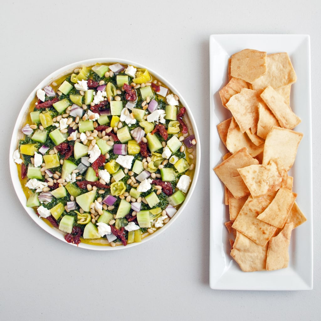 Popsugar Food: Mediterranean Layered Dip