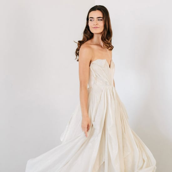 The lovely pepa 39 s wedding dress popsugar fashion for What kind of undergarments for wedding dress