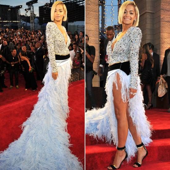 Rita Ora Dress at VMAs 2013 | Pictures | POPSUGAR Fashion