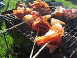 Bacon-Wrapped Shrimp With Chipotle Barbecue Sauce Recipe 2010-01-26 15:11:25