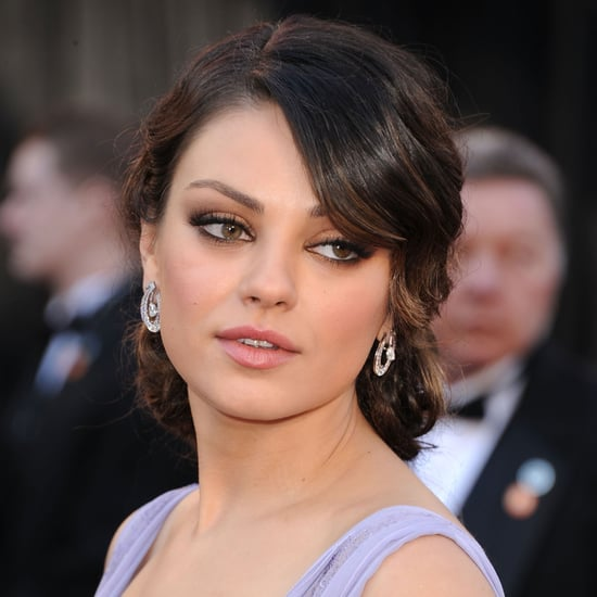 hair haircuts for faces mila kunis s 2011 oscars look makeup tutorial popsugar 5303