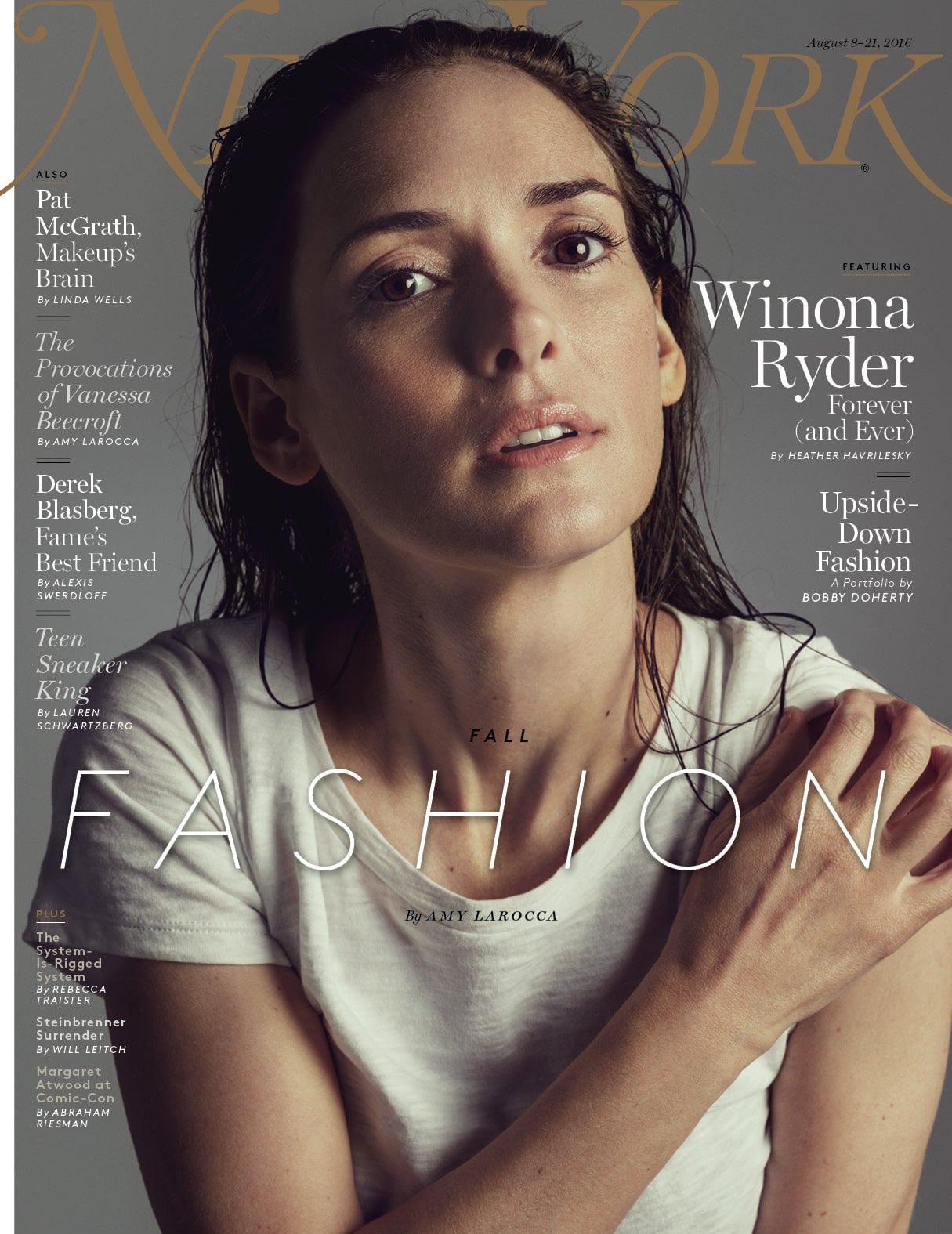 Winona Ryder New York Magazine Interview August 2016 | POPSUGAR ...