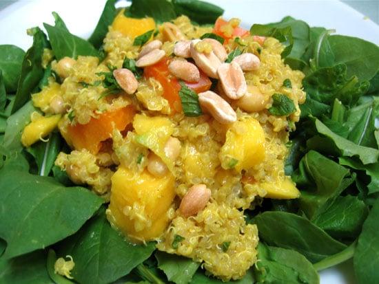 Whole Grain Recipe: Curried Quinoa Salad   POPSUGAR Fitness
