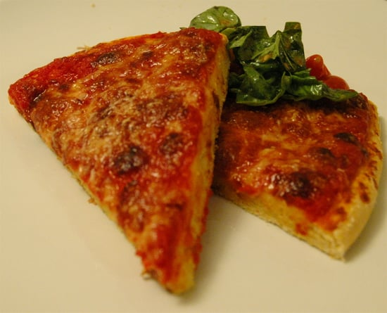 52 Weeks of Baking: Four Cheese Pizza with Cornmeal Crust ...