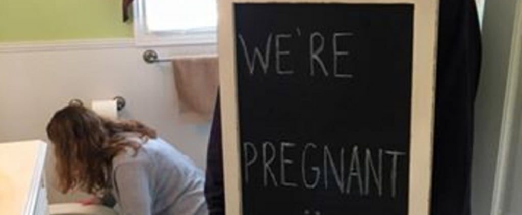 This Hilarious Pregnancy Announcement Has a Very Unexpected Twist!