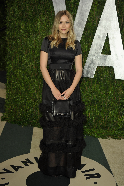 Elizabeth Olsen at the Vanity Fair party