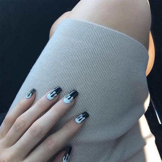 Kylie Jenner Lip Kit Inspired Nails