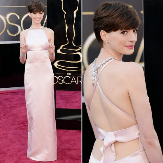2013 Oscar Awards Style & Fashion Poll: Anne Hathaway