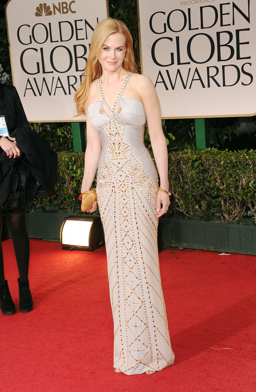 Nicole Kidman at the Golden Globes.