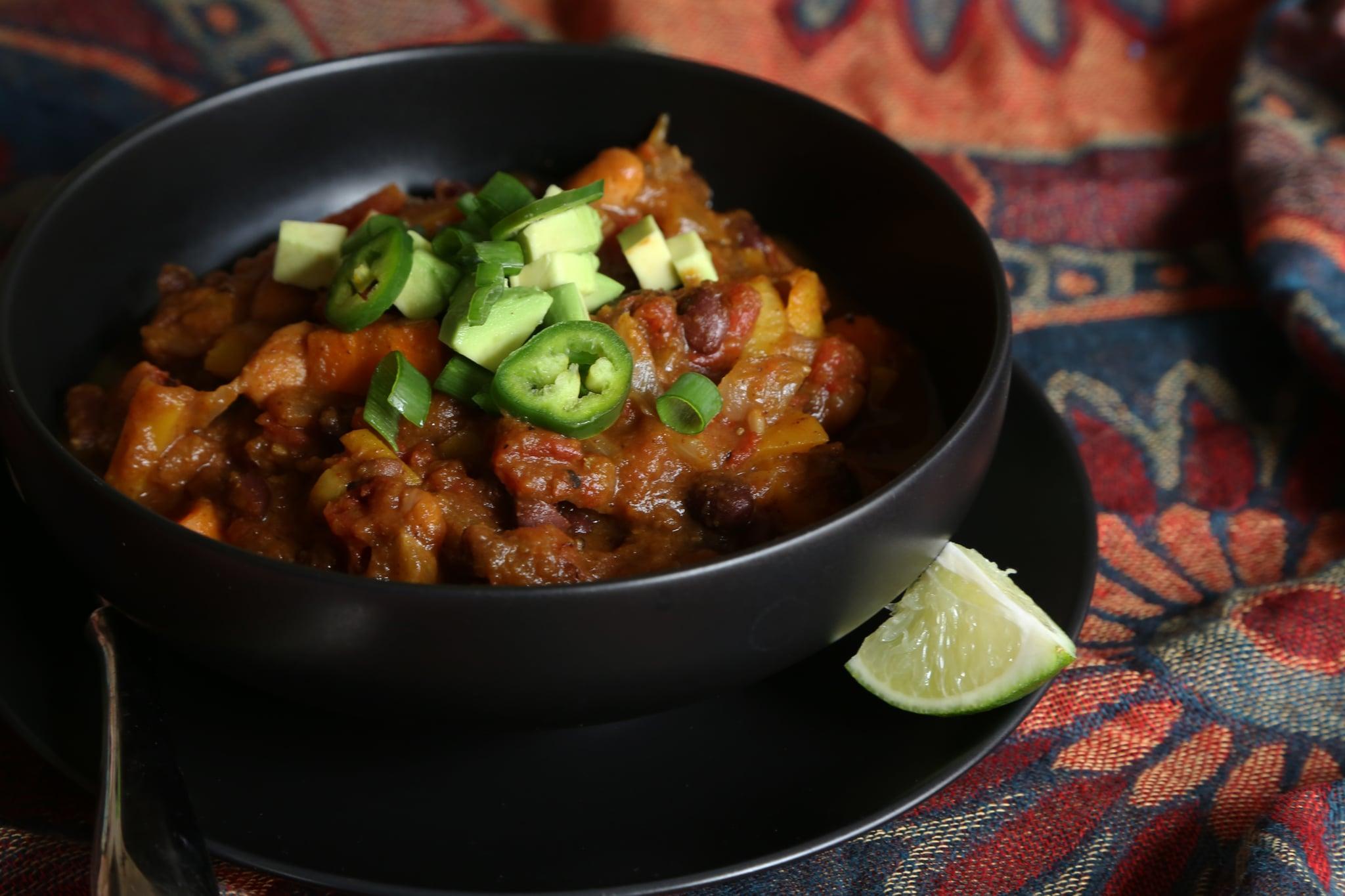 Pumpkin chili recipe popsugar food forumfinder Choice Image