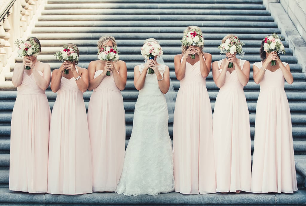 How to spend nothing on a bridesmaid dress popsugar for How much to spend on wedding dress