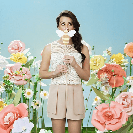 Lea Michele Beauty Interview   Spring 2016