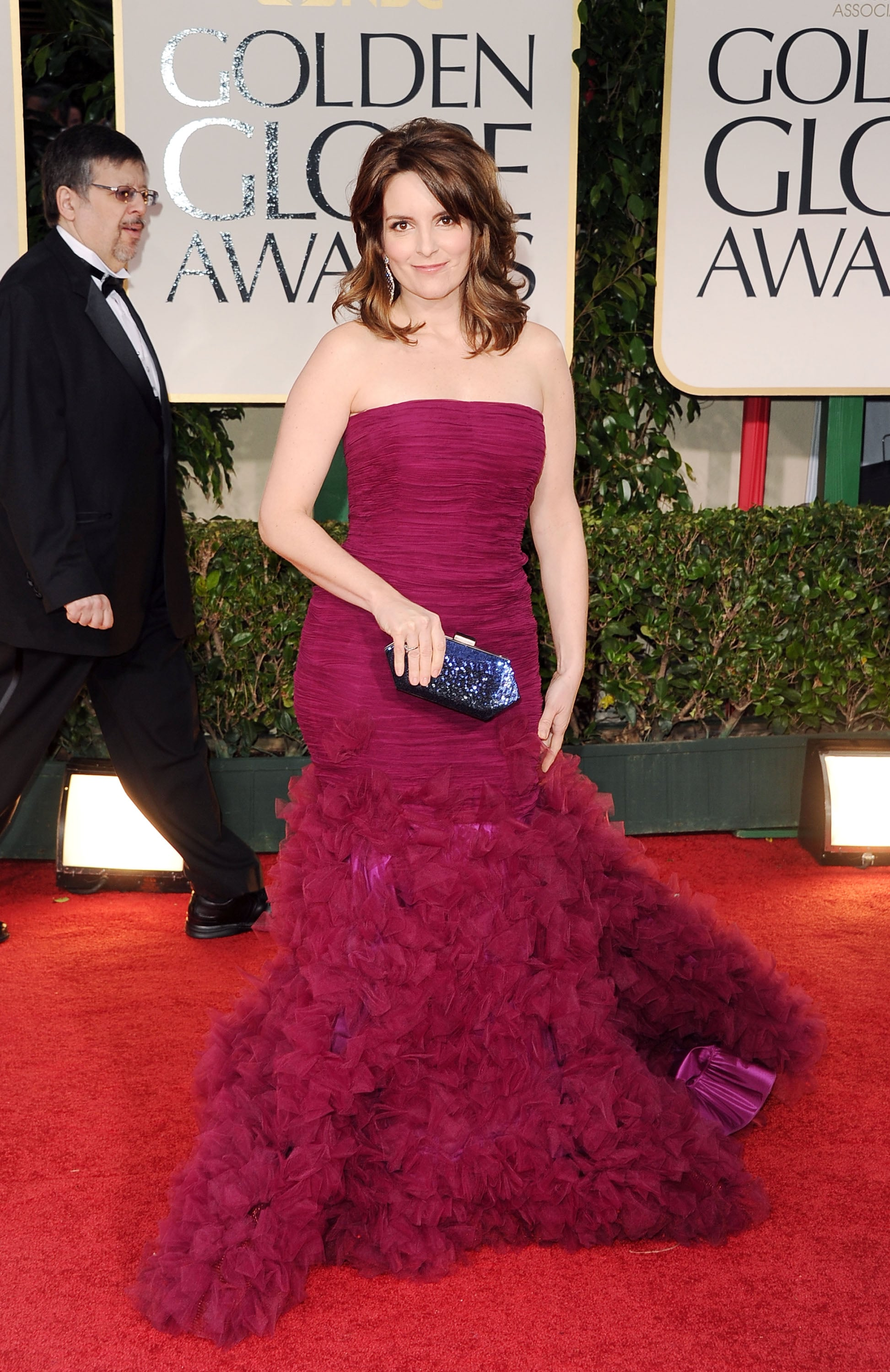 Golden globes 2012 red carpet dress pictures popsugar celebrity - Golden globes red carpet ...