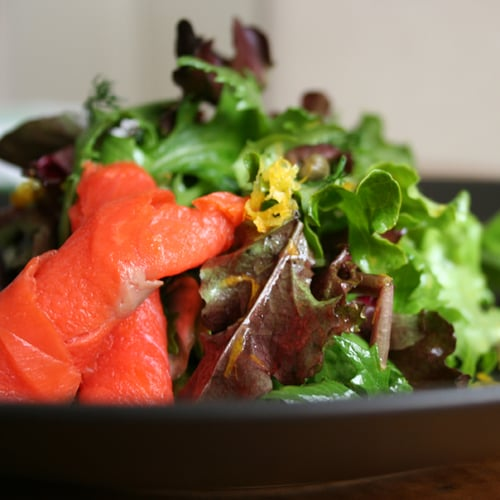 Smoked Salmon Salad | POPSUGAR Food