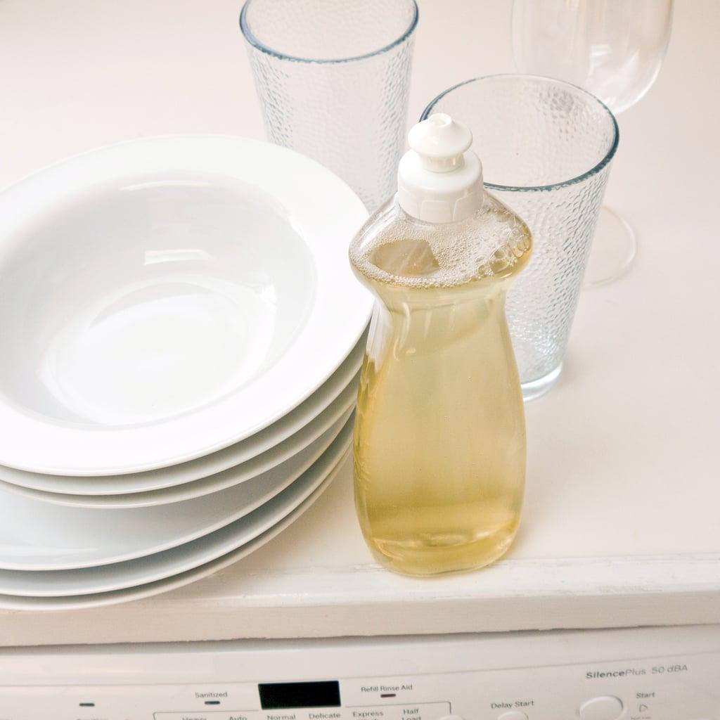 Dishes In Dishwasher ~ Diy liquid dishwasher detergent popsugar smart living