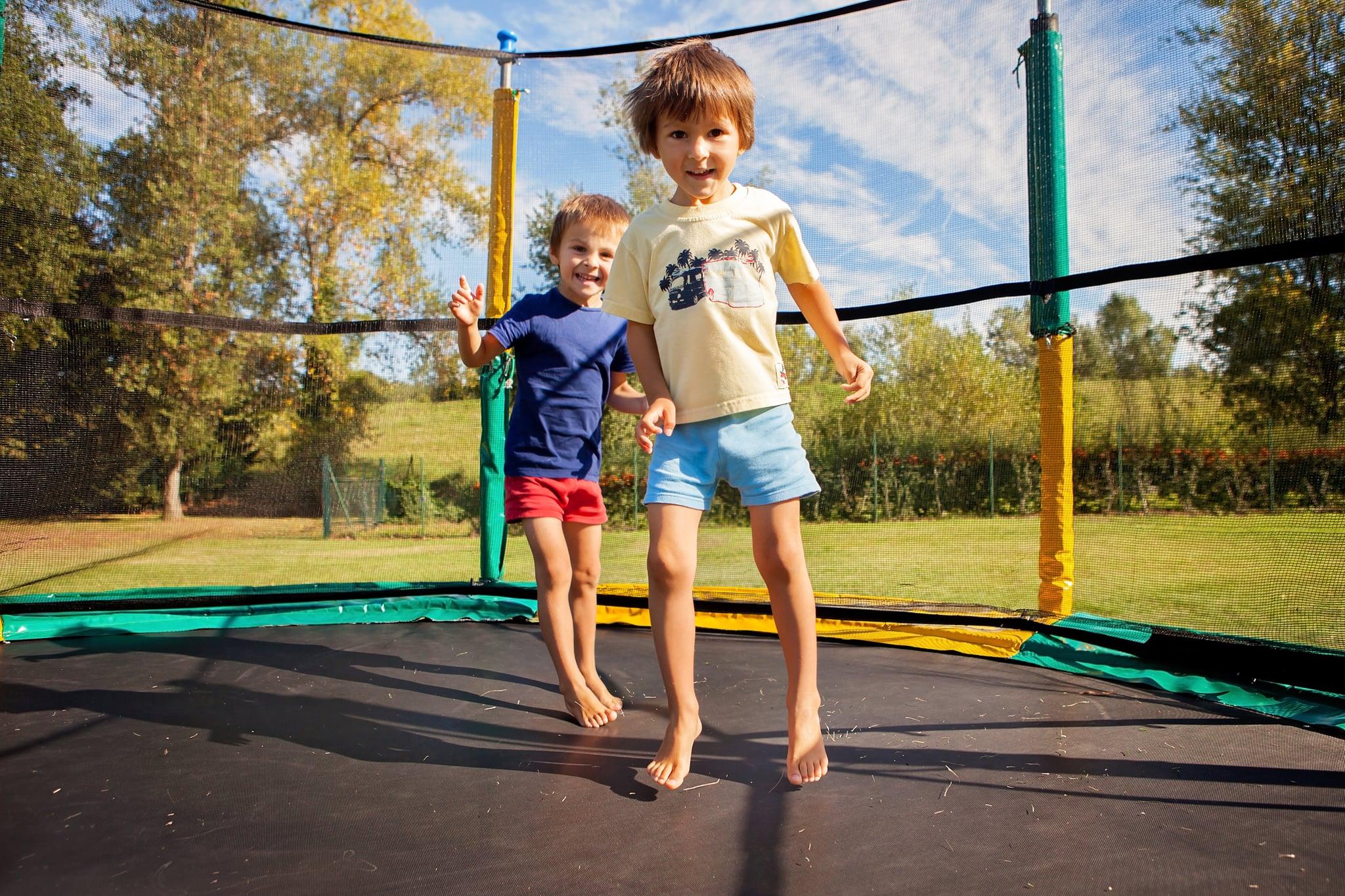 why trampolines are dangerous for kids popsugar moms. Black Bedroom Furniture Sets. Home Design Ideas
