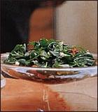 Arugula, Fresh Corn and Tomato Salad