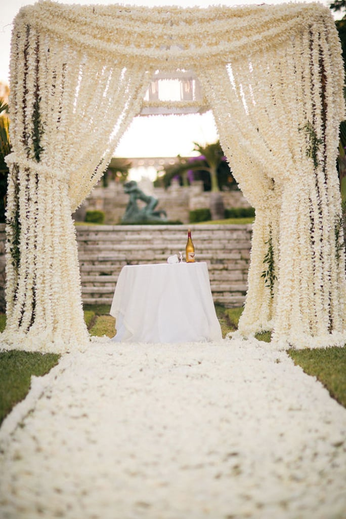 wedding ideas for just the two of us unique wedding altar ideas and pictures popsugar home 28142