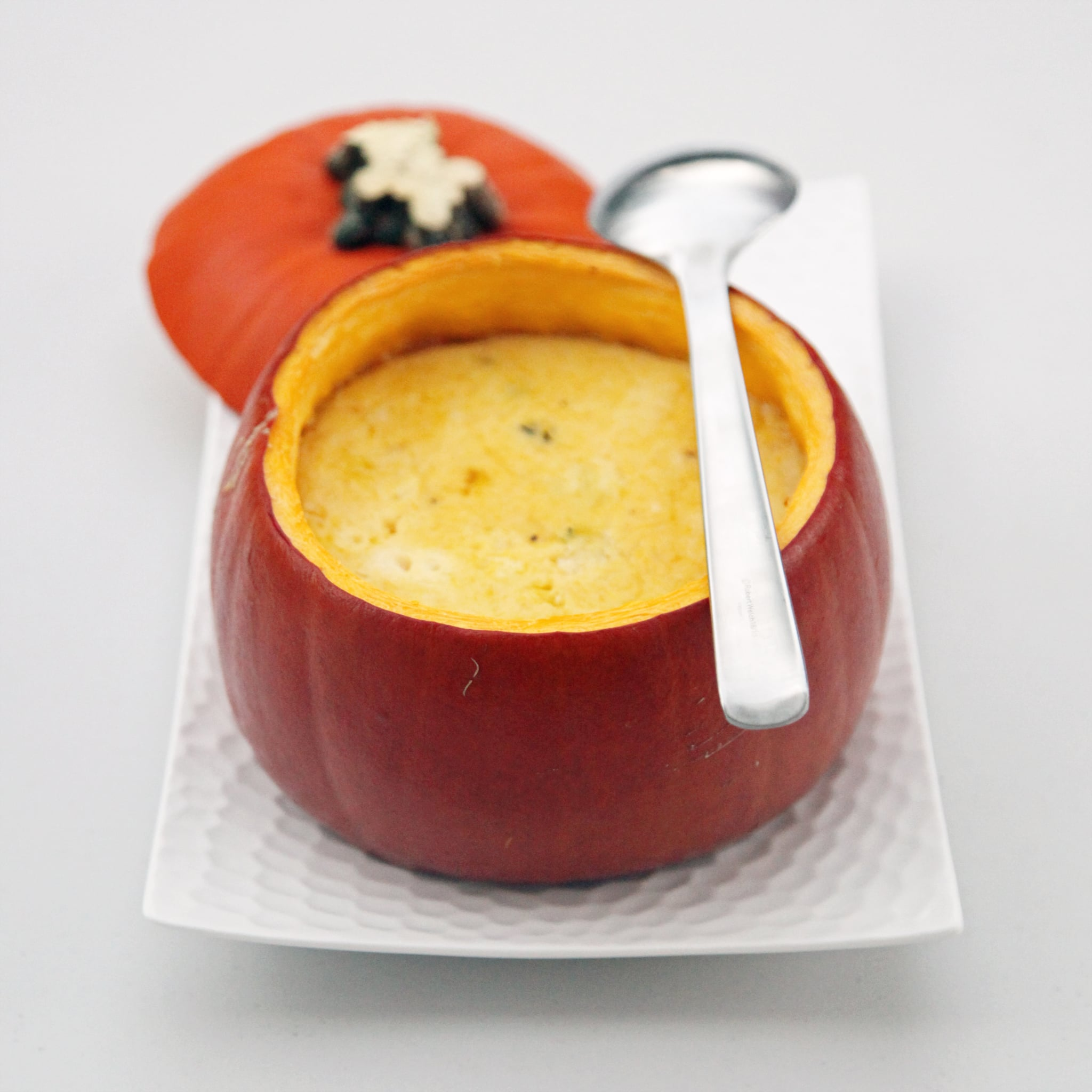 Popsugar Food: Savory Pumpkin Custard