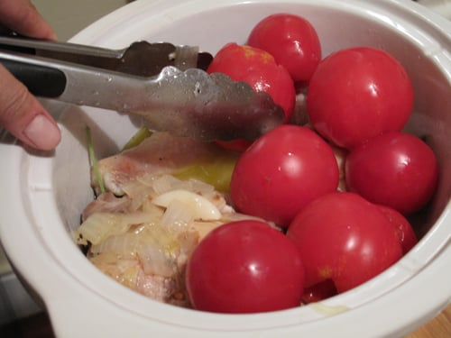 Braised Chicken with Summer Tomatoes