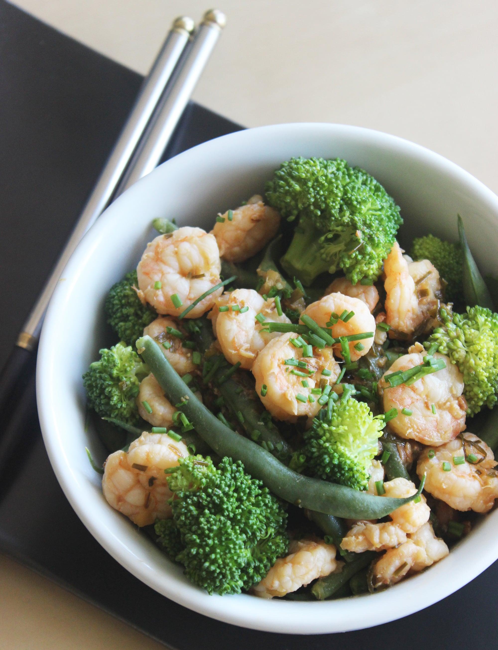 Healthy Shrimp Stir-Fry | POPSUGAR Fitness