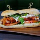 Pan-Roasted Chicken-Thigh Sandwich