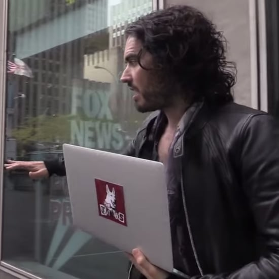 Russell Brand Threatened With Arrest at Fox News | Video