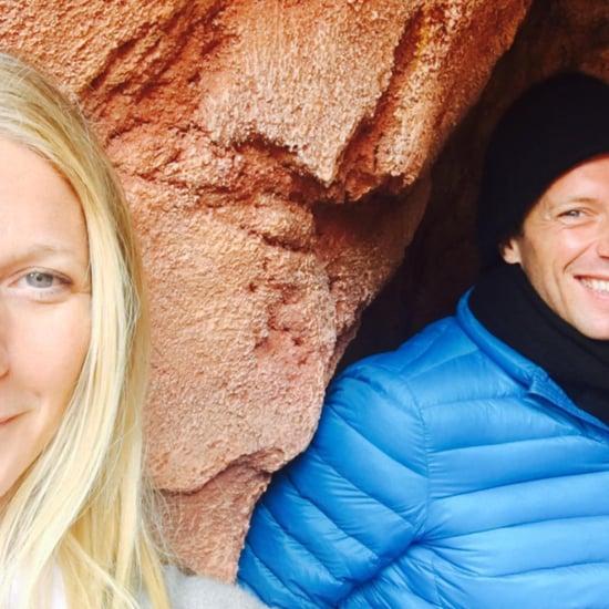 Gwyneth Paltrow and Chris Martin at Disneyland May 2016