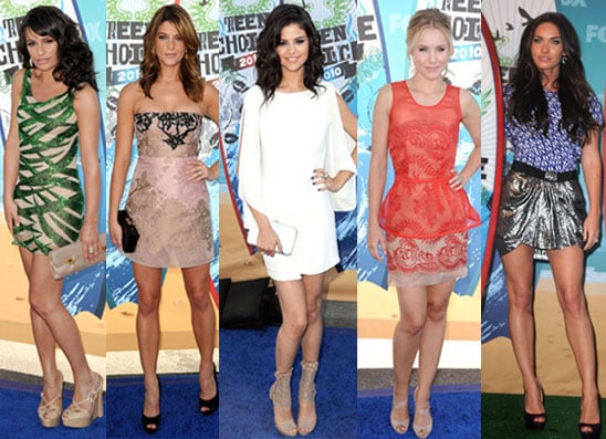La mieux habillee aux Teen Choice Awards 2010