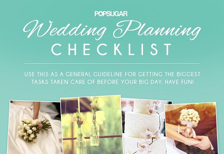 wedding planning checklist popsugar australia smart living