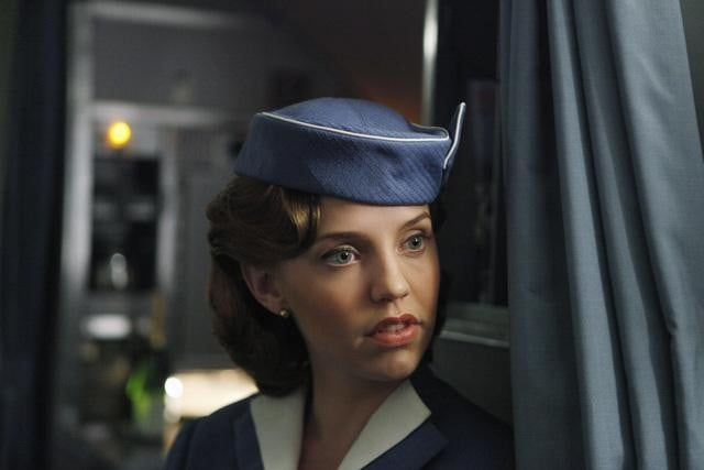 Kelly Garner in ABC&#039;s Pan Am.	