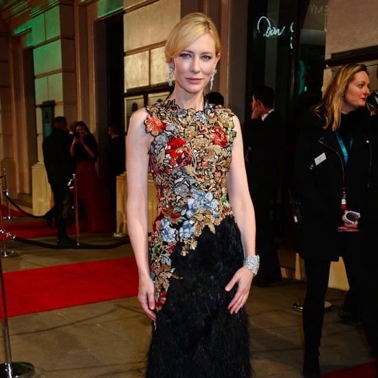 Cate Blanchett in Alexander McQueen at the BAFTA Awards 2016