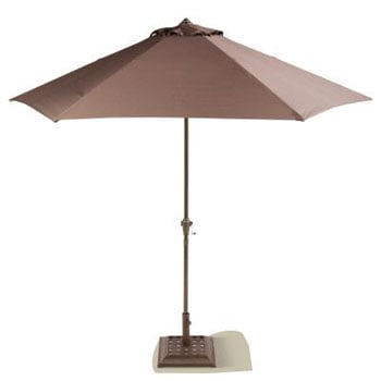 Good better best modern patio umbrellas popsugar home for Patio table umbrella 6 foot