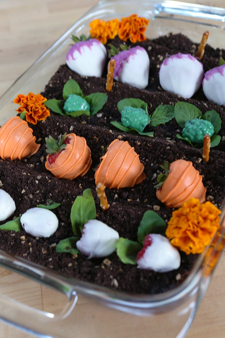 Edible Garden Cake Recipe Video POPSUGAR Food