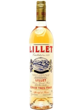 Lillet Champagne Cocktail